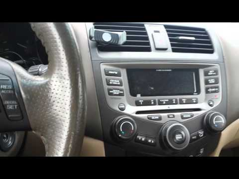 2004 honda accord radio code locked doovi. Black Bedroom Furniture Sets. Home Design Ideas