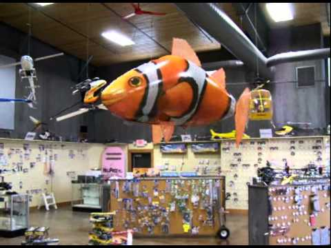 Air Swimmer R/C Flying Clown Fish - Heliproz