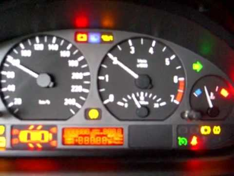 Bmw E46 Tacho Lampen Test Youtube
