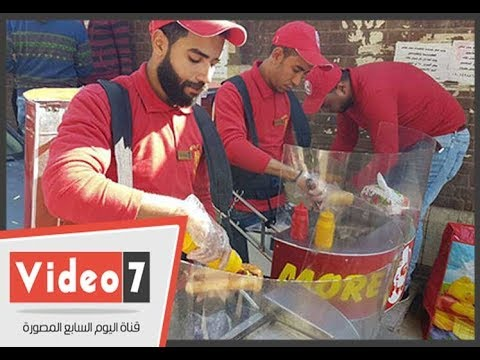 3 شباب يتحدون البطالة بمشروع -مور جريل- مينى مطعم متنقل بأسيوط  - 00:24-2017 / 11 / 29