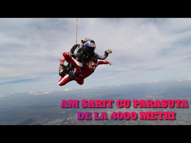 CLIP SPECIAL - AM SARIT CU PARASUTA DE LA 4000M 😱