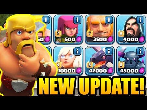 Clash Of Clans - NEW UPDATE SOON! - New Level Troop! First Sneak Peek July 2016!