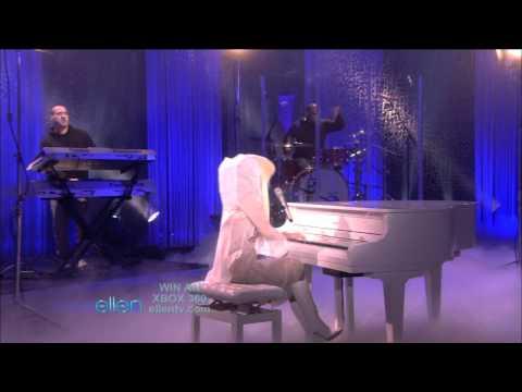 Lady GaGa - Speechless - Live at The Ellen DeGeneres Show