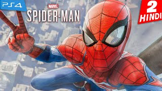 SPIDER-MAN PS4 Walkthrough Gameplay -HINDI- Part 2 - OCTAVIUS