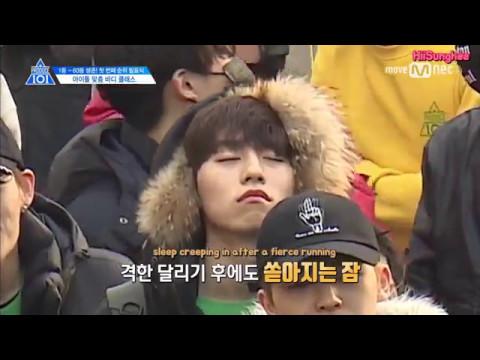 [ENG] PRODUCE 101 Season 2 Ep.5 - Wake Up Song Mission 프로듀스101 시즌2 5회 합숙소 기상미션