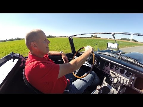 Behind The Wheel with Joel Wilson - 63 E Type Jaquar