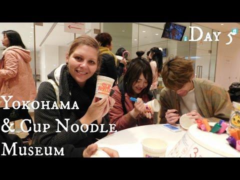Tokyo Vlog: Day 5 Yokohama & Cup Noodle Museum