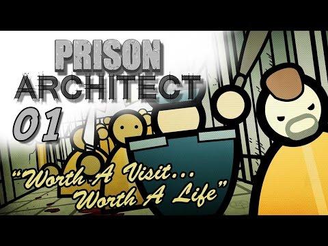 Prison Architect #01 - Willkommen im Knast [Gameplay German Deutsch] [Let's Play]