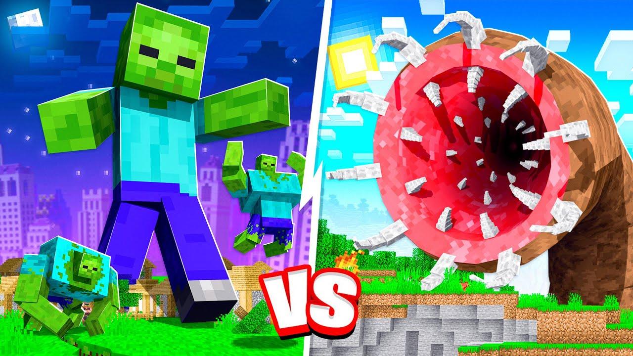 UNKILLABLE MINECRAFT BOSS vs MINECRAFT TITANS!! - Video - ViLOOK