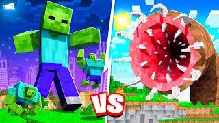 UNKILLABLE MINECRAFT BOSS vs MINECRAFT TITANS!!