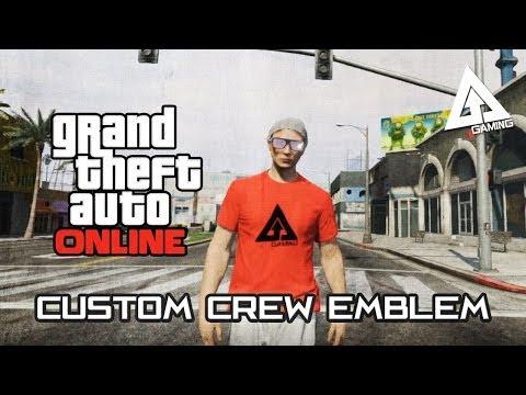 GTA Online - Importing a Custom Image Into Rockstar Social Club Crew Emblem Tutorial