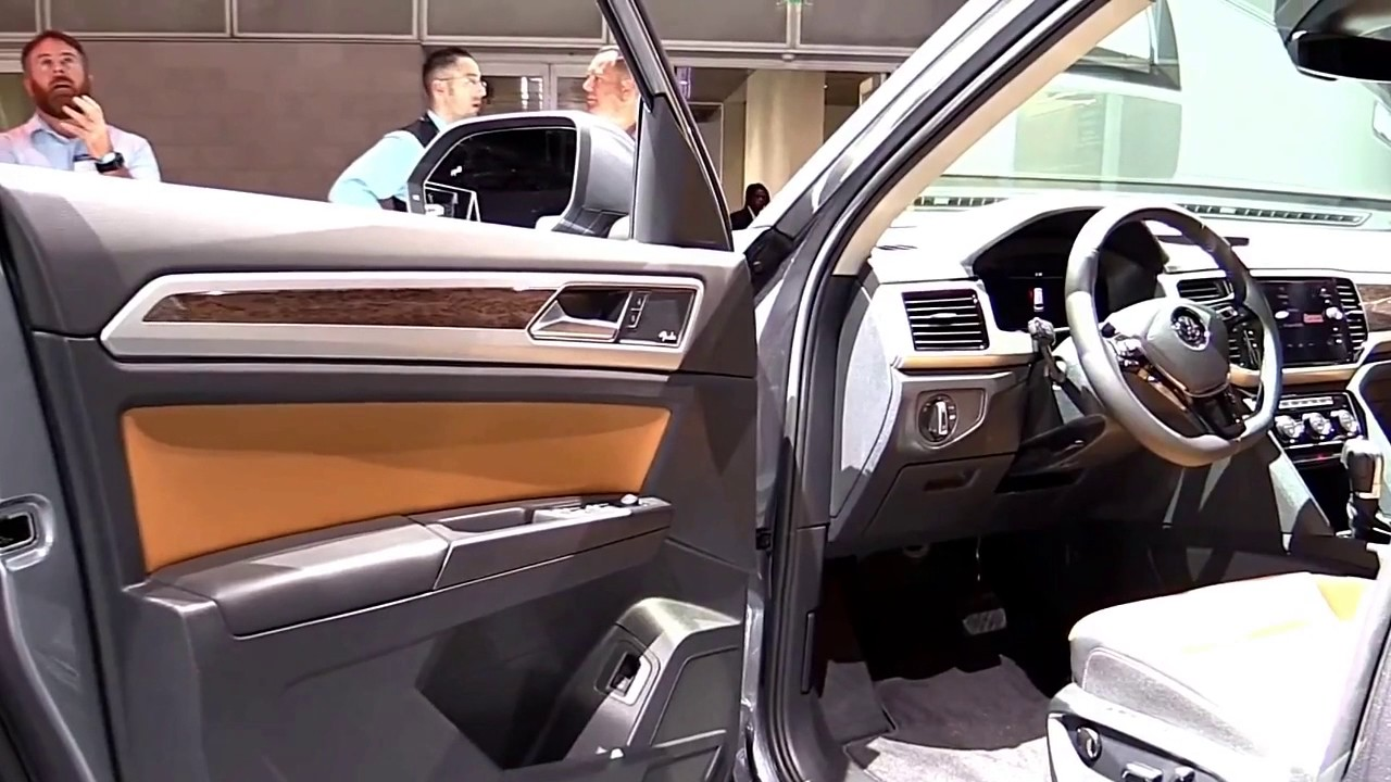 2017 Volkswagen Atlas Suv Limited Edition Exterior And Interior First Impression Look In