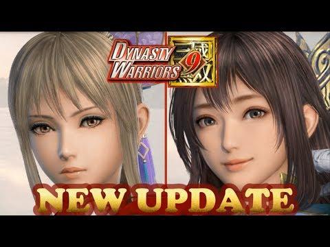DYNASTY WARRIORS 9 New Update Characters & Informal Design