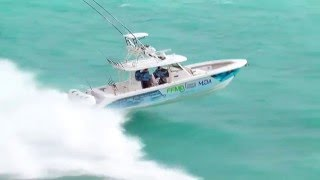 Fishing for Muscular Dystrophy Everglades 435cc