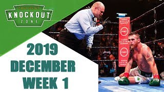 Boxing Knockouts | December 2019 Week 1