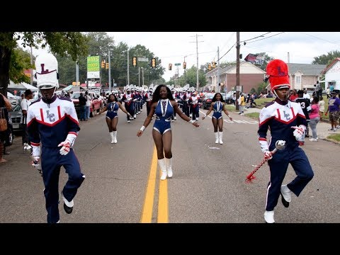Lane College Marching Band - Marching In (Homecoming) - 2017