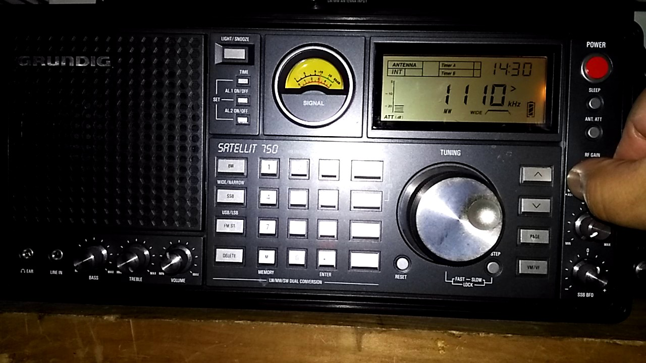 AM/MW DX of News Talk 1110 99 3 WBT on 1110 kHz from Charlotte, North  Carolina