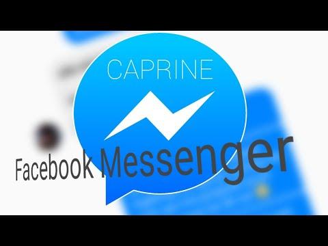 Caprine pour Facebook messenger