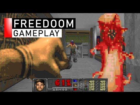 FreeDoom Gameplay
