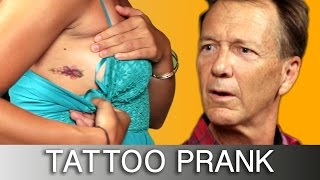 Daughters Prank Parents With Tattoos