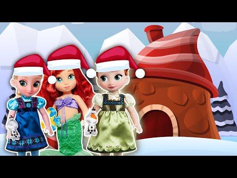 🎁 Navidad en el Castillo de La Pandilla Junior  🎄 - Princesas de Disney