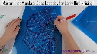 Master that Mandala Class Sneak Peek!
