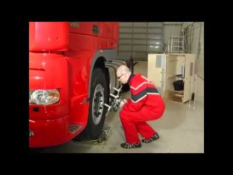 регулировка углов установки колес на грузовых автомобилях