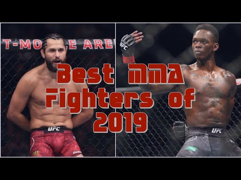 Best MMA Fighters Of 2019