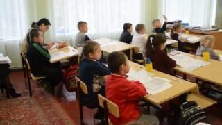 Урок української мови у 1-А класі. Вчитель Шкуратова В.М.