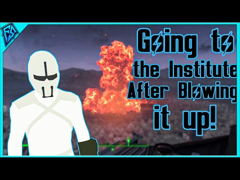 Fallout 4 | Going to the Institute After Blowing it up! | What Happens?