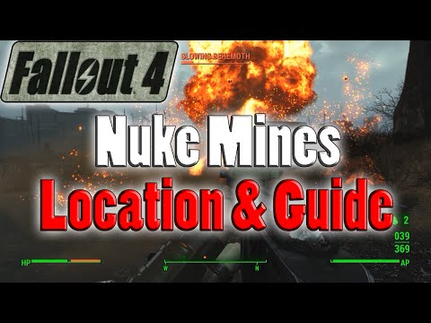 Fallout 4 | Nuke Mines | Rare Mine Locations And Guide