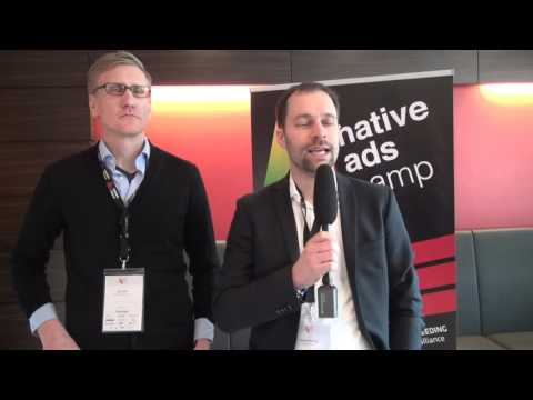 Lars Moll (Bild.de) und Stefan Mölling (Media Impact) im Interview   Native Ads Camp 2016