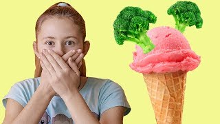 Do You Like Broccoli Ice Cream? Yucky! -  Song for  Children