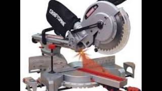Craftsman 10 Single Bevel Sliding Compound Miter Saw 21237