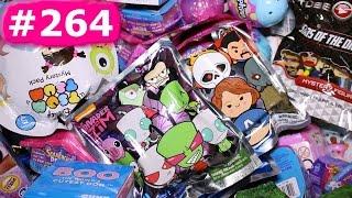 Random Blind Bag Box Episode #264 - Yummy World, Num Noms, BH6, Shopkins, Tsum Tsum