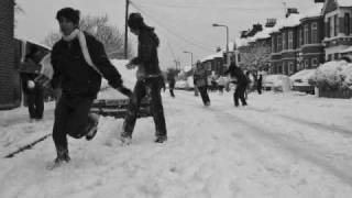 Londyn w śniegu
