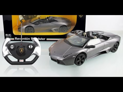 lamborghini reventon t l commande voiture jouet youtube. Black Bedroom Furniture Sets. Home Design Ideas