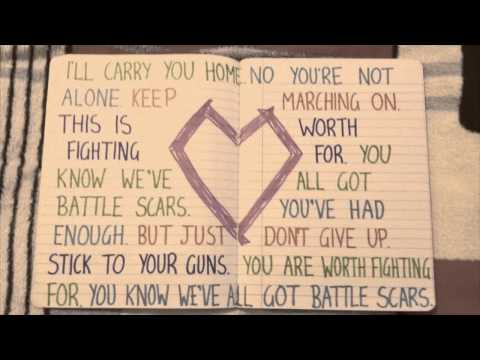 Paradise Fears - 'Battle Scars' Lyrics