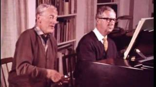 "Peter Pears & Benjamin Britten discuss ""Die Winterreise"" - 1968"