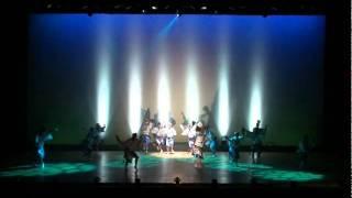 うずき連@徳島市立文化センター ~2011.8.15 選抜阿波踊り大会4日目~