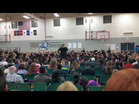 6th Grade Heritage Grove Middle School 2016 First Concert