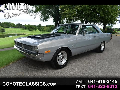 1972 Dodge Dart For sale at www coyoteclassics com