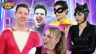 The JOKER Stunts, Flips, Tricks, Real Life Obstacle Course - The Sean Ward Show
