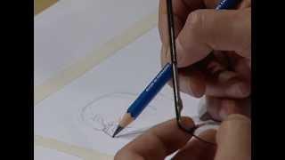How to draw Kratos, god of war 1 / Kratos, Dios de la guerra 1