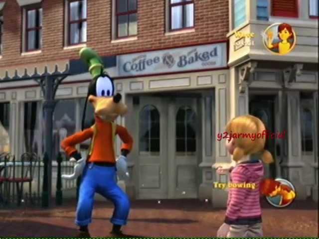 Kinect Disneyland Adventures Xbox 360 Playthrough Part 1 Youtube