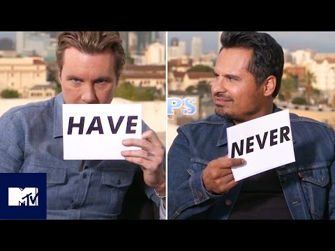 Michael Peña And Dax Shepard Play Never Have I Ever | MTV Movies