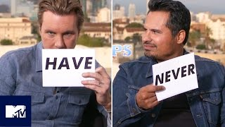 Michael Peña And Dax Shepard Play Never Have I Ever! | MTV