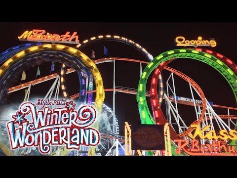 Hyde Park Winter Wonderland Vlog November 2017