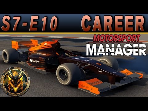 Motorsport Manager PC Career Mode S7E10 - PERES VS FLORES
