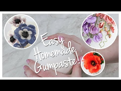 Gumpaste Recipe | Renee Conner